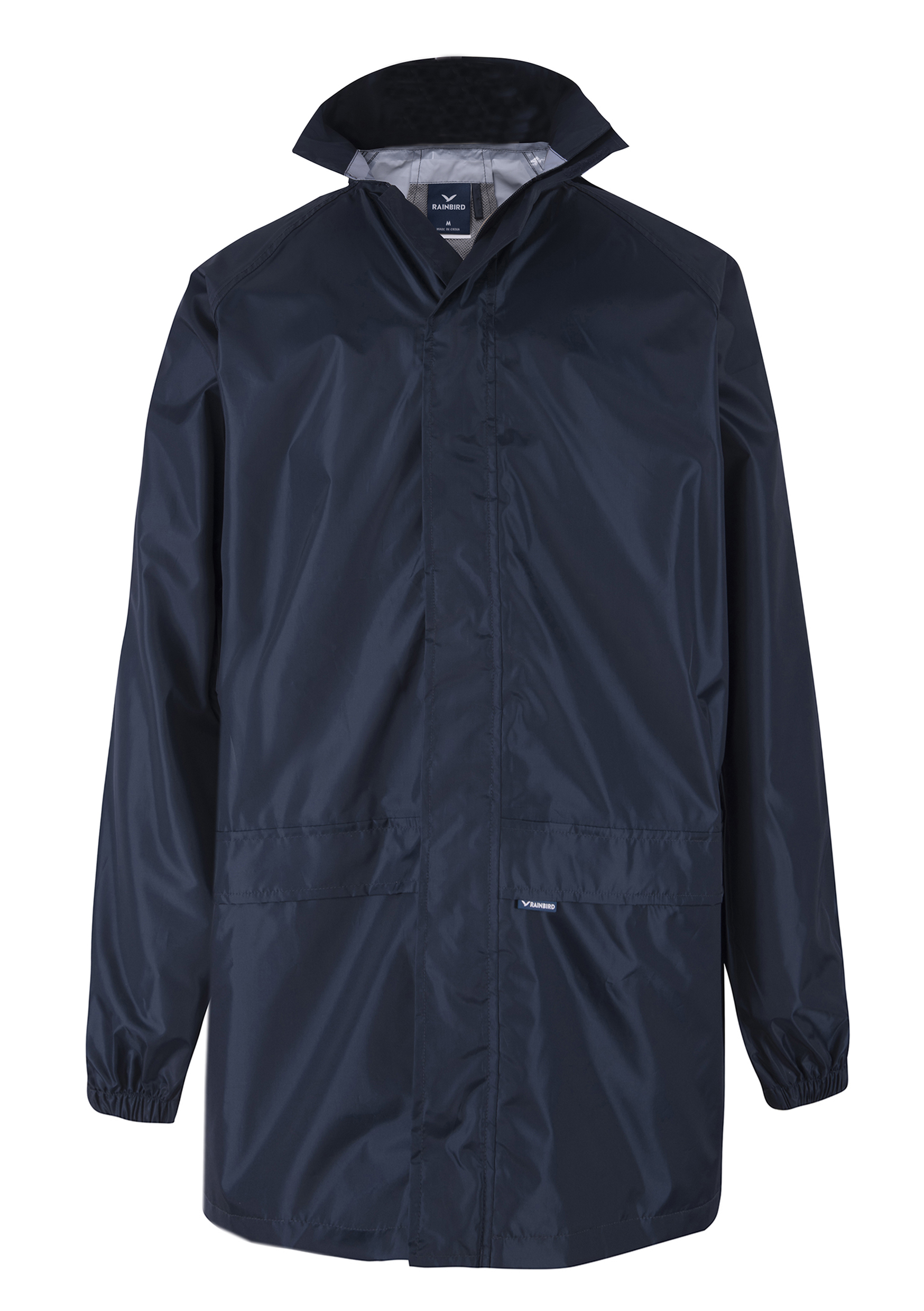 ADULTS CASCADE JACKET-817-NAVY-FORM FRONT