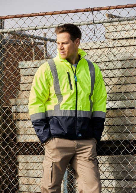 PILOT-JACKET-WITH-TAPE-8580-FLUORO-YELLOW-NAVY-(5)