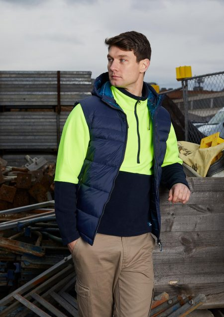 NAOS-VEST-8566-MIDNIGHT-+-WORUGA-PULLOVER-8705-FLUORO-YELLOW-NAVY(3)